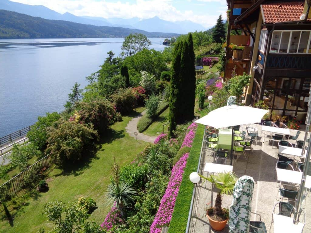 accommodation pension sedlak at the lake in millstatt