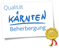 ausgezeichnete Hotels Kärnten - Logo Beherbergung