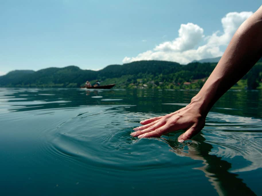 Lake Millstatt has drinking water quality