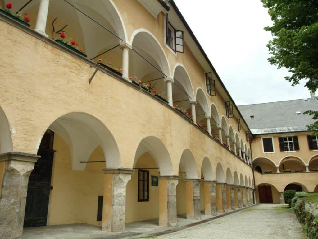 Benedictine monastery in Millstatt