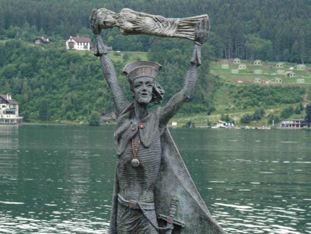 The Domitian statue in Millstatt