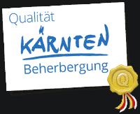 Kärnten ausgezeichnete Unterkünfte Logo