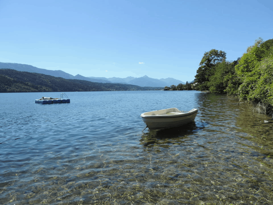 private access to the lake millstatt carinthia austria