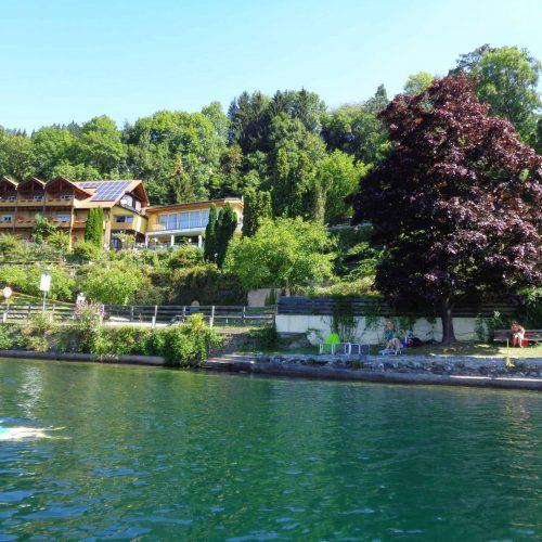 apartment house directly at lake Millstatt Carinthia
