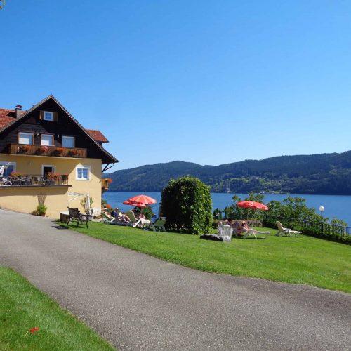 Pension Sedlak holidays at lake