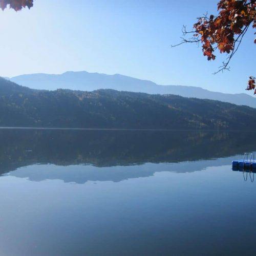 Seezugang zum Millstätter See bei Urlaub in Ferienwohnungen Pension Sedlak