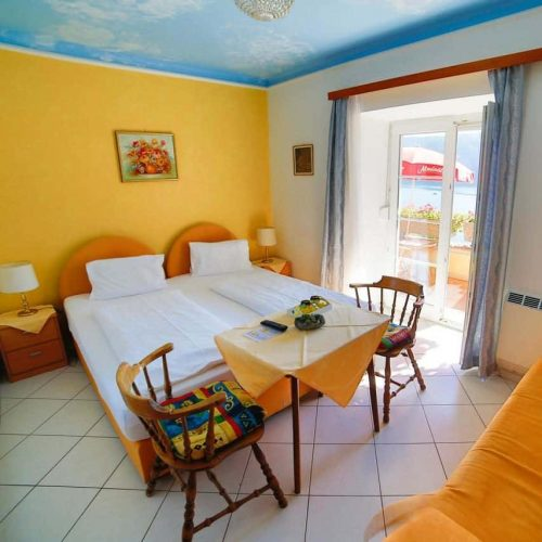 doubleroom with balcony in Millstatt, Carinthia