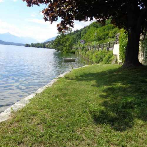 private access to the lake Millstatt