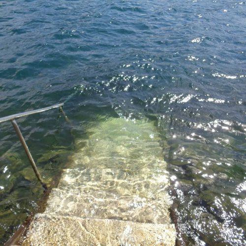 Seezugang zum Millstätter See beim Badeplatz