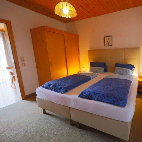 Doppelzimmer in Frühstückspension Sedlak am Millstätter See